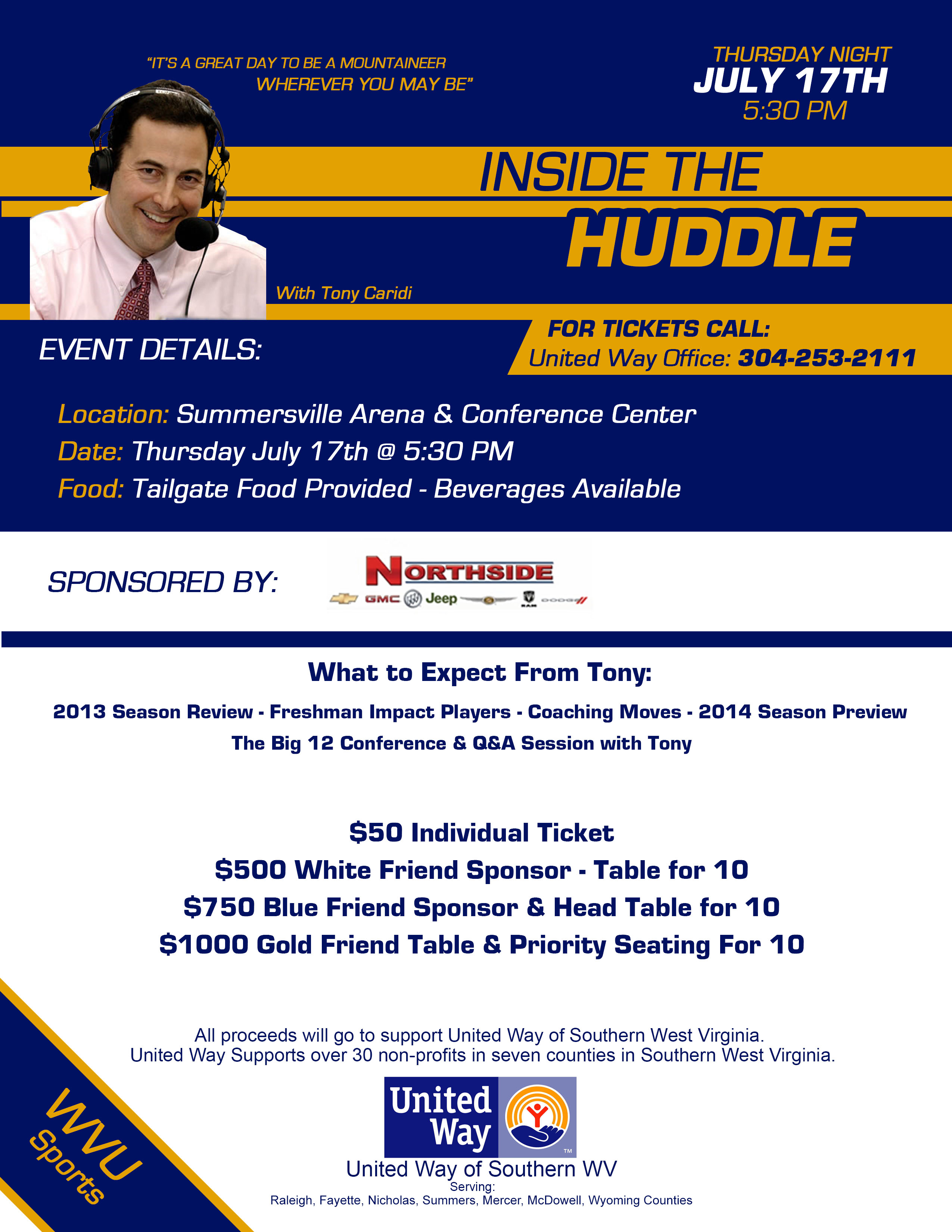 INSIDE THE HUDDLE FLYER