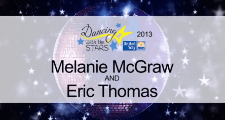 DWTS 2013 – Melanie McGraw and Eric Thomas